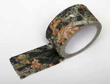 CAMOUFLAGE FABRIC TAPE. 10 METERS X 5 CM. ADHESIVE MAPLE LEAF DPM CLOTH.