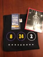 2/8 Warriors vs Lakers Game Ticket + XL Shirt + Time Magazine 💯 Authentic