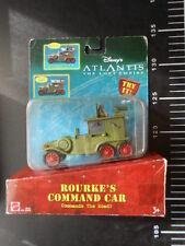 ☆˚。DISNEY ATLANTIS LOST EMPIRE Rourke's Command Car Mattel 。˚☆