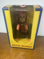 Mister Monkey Mechanical Musical Toy with cymbals 1999 Charm Company