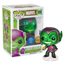 Nouveau Marvel Green Goblin Chase POP Vinyl Bobble-Head Figure #109 Funko Officiel