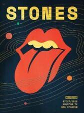 Rolling Stones - 2019 poster Houston, TX No Filter Tour NRG Stadium