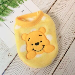 Cute Teacup Dog Clothes Puppy Warm Hoodie Pet Pajamas for Yorkie Maltese XXXS-XS