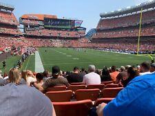 2 - Cleveland Browns vs Denver Broncos Tickets - 10/21/21 Sec 145, R17, S 7 & 8
