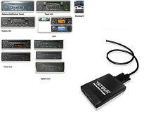 Adattatore USB SD AUX mp3 Caricatore Renault Tuner Update List Carminat 2+
