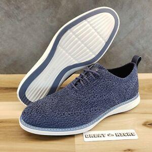 COLE HAAN Grand Evolution Wingtip Oxford Men's Shoes - Size 10M (C32156) $270