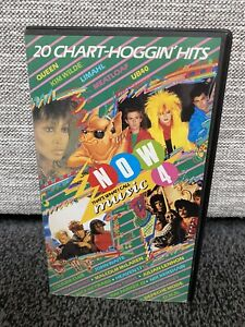 Now Thats What I Call Music 4 VHS - Music Video - USED