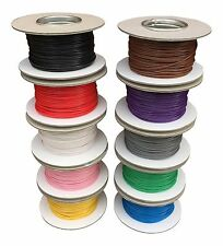 AUTOMOTIVE 1mm THINWALL ELECTRICAL AUTO CABLE WIRE 16.5AMP ALL LENGTHS/COLOURS
