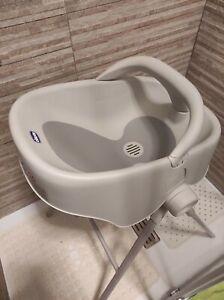 Bubble Nest Chicco, bagnetto per doccia e vasca, colore grigio