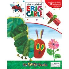 My Busy Books Gift Set THE WORLD OF ERIC CARLE 12 Figurines Playmat & Board Book