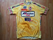 Mercatone Uno Team Short Sleeve Jersey, Santini, Pantani Size: 2XL