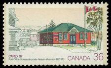 CANADA 1123i - Nelson-Miramichi Post Office - Double Tagging Error (pa33883)