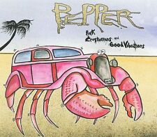 Pink Crustaceans and Good Vibrations [PA] [Digipak] by Pepper (CD, 2008, Law Re