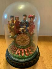 The BEATLES  Franklin Mint Music Box Figurine SGT.PEPPERS LONELY HEARTS BAND