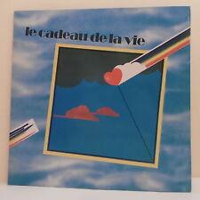 """33T LE CADEAU DE LA VIE 1980 Disques LP 12"""" GAINSBOURG BIRKIN HALLYDAY BREL LAMA"""