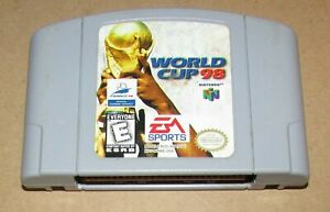 World Cup 98 for Nintendo 64 Fast Shipping! Authentic