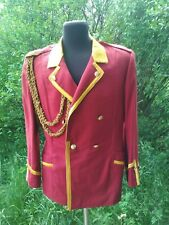 Military USSR Army Musicant Jacket Tunic Uniform Size: S