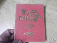 Historic Diamonds: Romance and Tragedy of the World's Great Diamonds-1915
