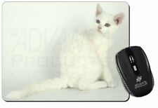 White American Wire Hair Cat Computer Mouse Mat Christmas Gift Idea, AC-86M