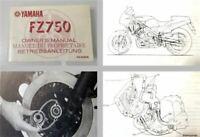 Yamaha FZ750 Motorrad Betriebsanleitung Bedienungsanleitung 1984