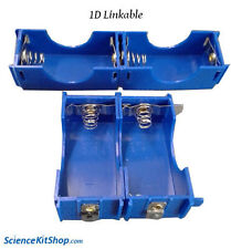 D Cell Battery Holder, Linkable (Pack of 4 Holders)