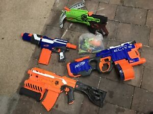 Nerf Gun Collection Motorised New