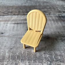 Sylvanian Families Replacement RARE Spares | Courtyard Restaurant Wicker Chair