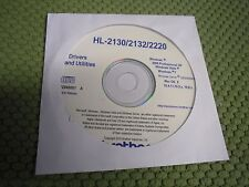 New Genuine Brother HL-2130 HL-2132 HL2220 Printer CD Software Drivers Utilities