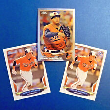MANNY MACHADO ROOKIE (3) Lot 2013 TOPPS CHROME RC, BOWMAN RC - DODGERS NEW STAR!