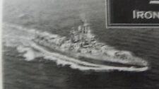 IRON SHIPWRIGHT RESIN KIT-1/350 USS NEVEDA BB36 1944 #4-073