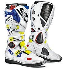 Sidi Crossfire 2 Stivali da Moto Giallo Fluo/bianco/blu 44 (i0u)