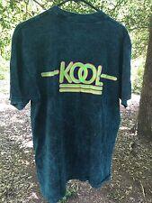 NEW Vintage Kool Cigarette T-Shirt Size XL, Blue/Green, Aqua, Marble Tye Dye