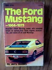 JERRY HEASLEY - The Ford Mustang 1964 1973 - PAPERBACK ** 1st Edition **VGC