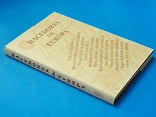RARE BOOK: Hacedores de Europa / Pilar de Aristegui  / Madrid / AUTHOR SIGNED