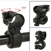 360 Rotation Cycling Bicycle Bike Flashlight LED Torch Bracket Mount Holder DO