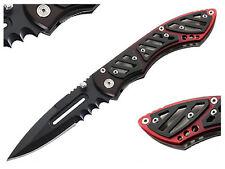 Einhandmesser Gothic Punk Messer Cybermask WGT Cyber