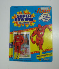 Kenner Super Powers 1984 Flash 12 Back Moc Unpunched Mexico Fan Club Offer