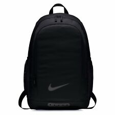 Nike Academy Plain Black Rucksack Backpack Sports Football Bag Christmas 2018