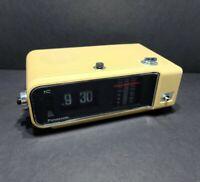 Panasonic RC-6003 VTG Flip Clock Alarm AM/FM Radio No Country For Old Men Tested
