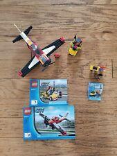 LEGO CITY 60019 7567 Stunt Plane Traveler COMPLETE manual airport traffic figure