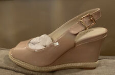 New Nine West Nude Dionne Wedge Shoes - Size 3 (36)