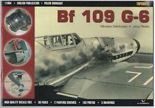 *Messerschmitt Bf 109 G-6 - TOPSHOTS,  KAGERO Without Decals (English!)
