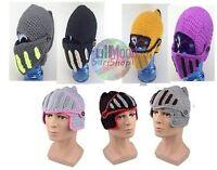 New Knitting Knight Gladiator Mask Knit Roman Knight Cap Beanie Hat Laplander