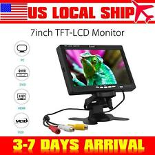 "EYOYO S720 1024*600 CamPC DVD Video 7""LCD TFT Clolor Monitor Display VGA AV HDMI"