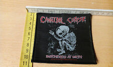 Cannibal Corpse Butchered at Birth Woven Patch 1992