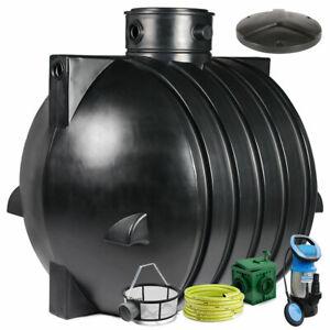 Regenwassertank, Zisterne Smart 6000 L Anlage Classic inkl. Zubehör Basic