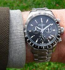 Rotary Chronograph Men's Watch Swiss Made Model GB00055/04