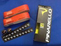 NASTRO PINARELLO DRY 1,8 mm ROSSO print NERO