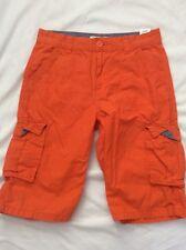 Levis Strauss Orange Cargo Shorts (Boys) Size 18