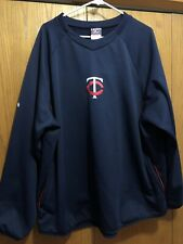 Minnesota Twins MLB Majestic Pullover Lightweight Therma Base Long Sleeve 2XL